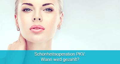 Schönheitsoperation PKV